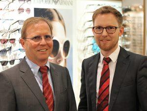 Joachim und Matthias Nowak von Brillen & Hörgeräte Ernst Osnabrück