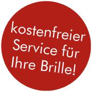 kostenfreier Service für Ihre Brille bei Ernst in Osnabrück